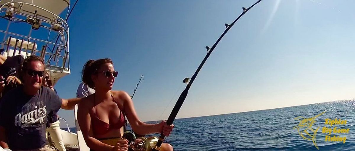 Women also fish for bluefin tuna