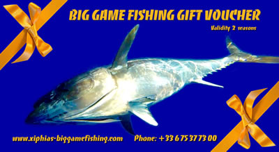 Offer a big game fishing gift voucher