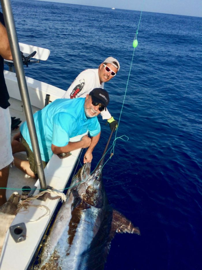 ONLY FROM 01/08 TO 10/08 BIG GAME FISHING BLUE MARLIN / WHITE MARLIN